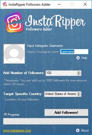 InstaRipper Tool - Hack Any Instagram Account!